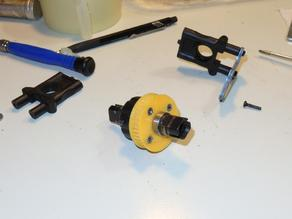GT2 pulley for differential gears buggy scale 1:8