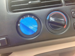 Car AC Knob Replacement