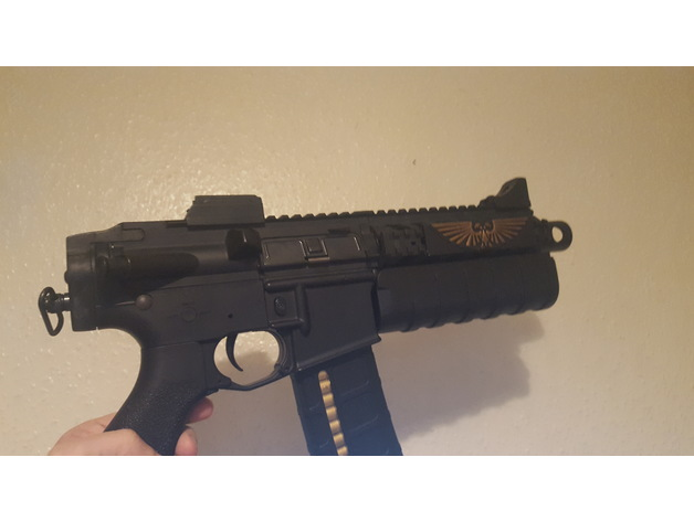bolter conversion for m4 airsoft