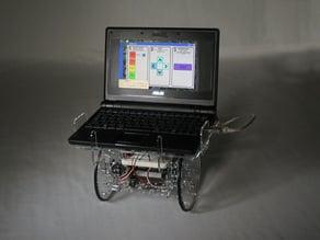 Laptop Desk for an Arduino Controlled Servo Robot - (SERB)