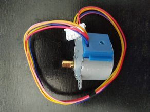 Use this Thing to change a unipolar 28BYJ-48 to bipolar stepper motor
