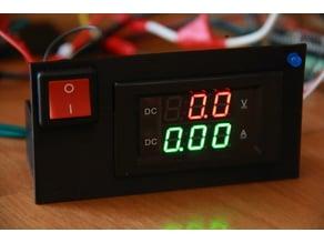YB4835VA Double Display Volt/AMP Meter