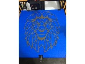 LION wall art / decoration