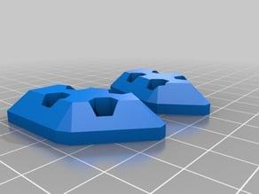ZMR250 8mm Skid Plates - 5,6mm Holes