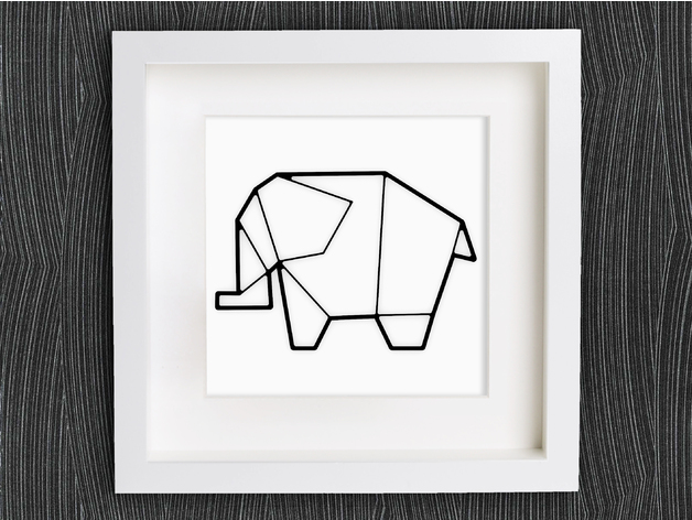 Customizable Origami Elephant No 2 By Mightynozzle