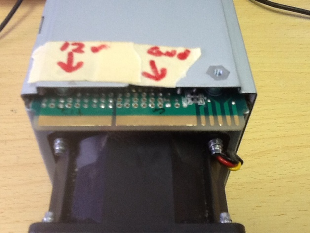 Hipro Server Power Supply Hack by madmike8 - Thingiverse