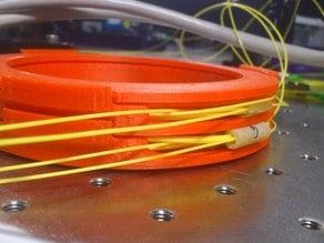 Stackable fibre organiser/protector