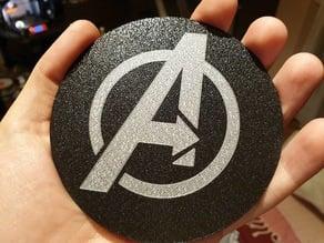 The Avengers coaster
