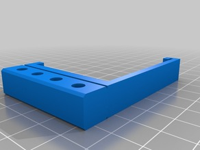 Anycubic i3 Mega filament guide site/top