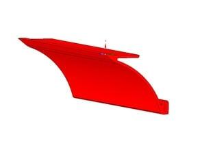 Anycubic i3 MEGA Z shield spacer