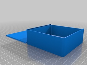My Customized Parametric Box with Sliding Lid