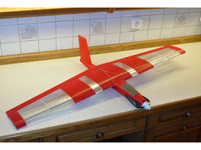 "Speedy ""Red Midi Swept Wing"""