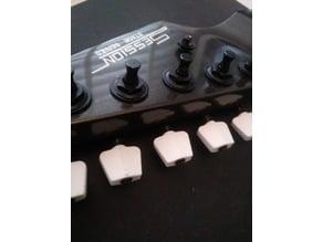 Strat style tuner knob