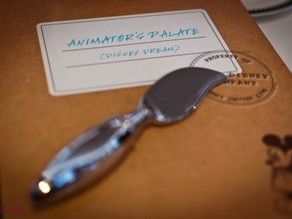 Disney Animator's Palate Restaurant Paintbrush Butter Knife