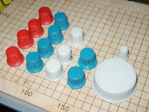 fluted knobs