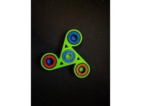 triforce finger fidget spinner