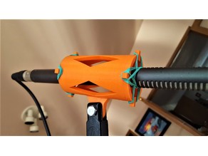 Shotgun Mic Shock Mount - Easy to Print