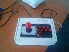Retro Pi Arcade top - minimalistic and parametric