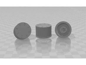 Westfalia - Electrolux refrigerator thermostat knob (255070527B)