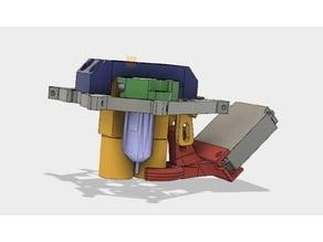 BLTouch Smart mount for Microdelta Rework