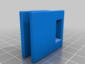 LED strip holder for Prusa I3