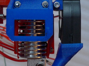 Layer fan duct and mount for Direct Drive Extruder