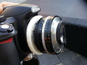 Retro Adapter for Nikon F-Mount