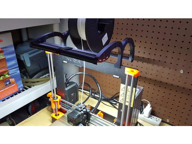 Snap on Front & Back LED Light Strip for Prusa i3 MK3 / MK2
