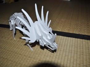 Styracosaurus 3D puzzle, Dino