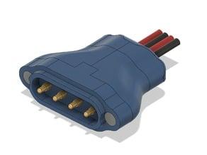 Spring Connector Magnet Plug