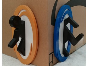 Portal Man - Plaque / Wall Hanger