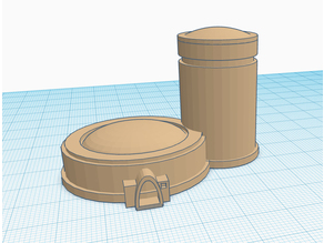 tatooine round hut with tower ver 0.10 (X-Wing TMG)