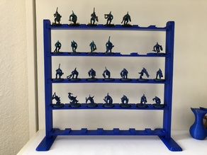 Citadel Paint Shelf Ø25 Base Miniatures 40k (200mm Print)