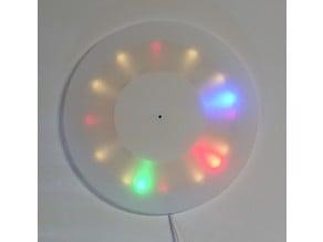 LED Roundclock