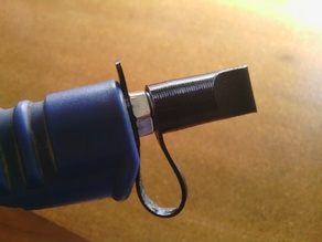 Air tool dust cap