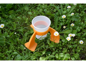 Picnic glass stabilizer