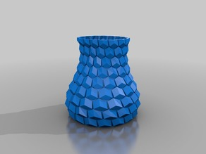 Honeycomb vase 2mm + holes