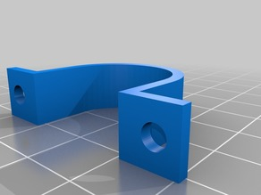 Customisable cable mount