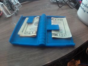 Cassette Wallet with holding clips