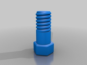 Ingocraft long bolt and nut