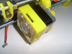 NEMA17 VGA card fan