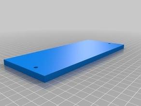 Solid Filler Panel for Rostock Max v3