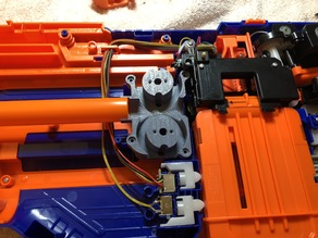 ROYAL MK2 - PROTOTYPE Canted Flywheel Cage for Nerf INFINUS (UPDATED 7.28.18)