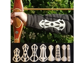 Archery Arm Guard - Final: 8 Variants