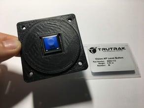 Instrument panel mount for TruTrak autopilot level button