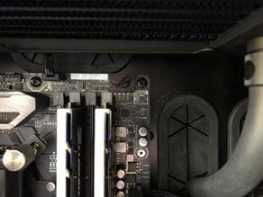 ASUS Maximus X Hero Q-Code LED Cover