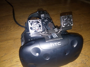 HTC Vive tiny head cooler
