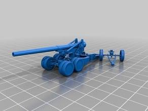 M1 155mm gun Long Tom (USA)