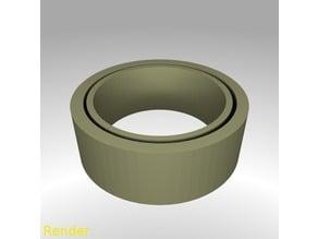 Fidget Ring Flat - Size 7