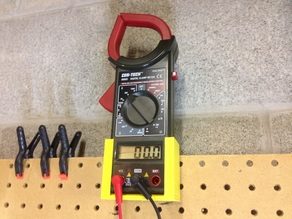 CEN-TECH Digital Clamp Multimeter Pegboard Mount
